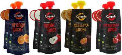 Organa Organic Exotic Fruit Juice(8 x 200 ml)