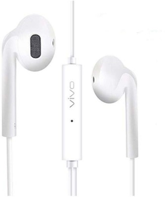 vivo HANDSFREE_20 Wired Headset(White, In the Ear)
