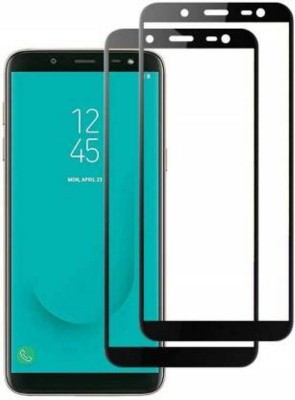 CLASIKCART Edge To Edge Tempered Glass for Samsung Galaxy J6(Pack of 2)