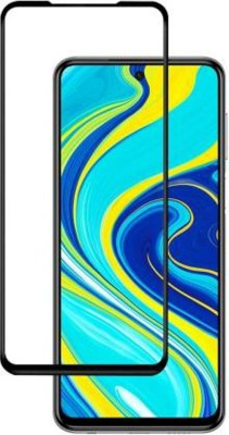Kavacha Edge To Edge Tempered Glass for Redmi Note 9 pro(Pack of 1)