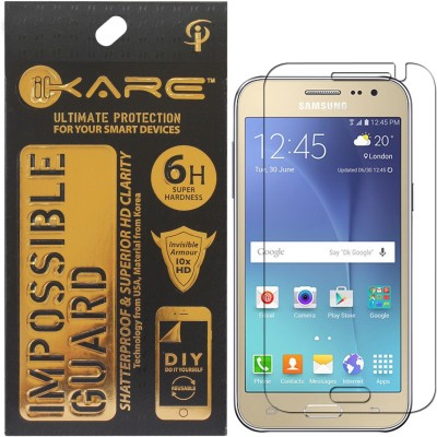 iKare Impossible Screen Guard for Samsung Galaxy J2(Pack of 1)