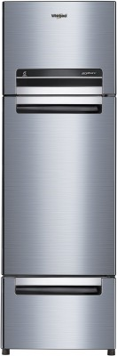 Whirlpool 260 L Frost Free Triple Door Refrigerator(Cool Illusia, FP 283D Protton Roy Cool Illusia (N))