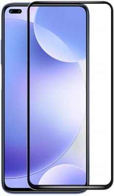 Vatsin Edge To Edge Tempered Glass for Realme X3(Pack of 1)