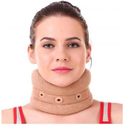 FUTUREWIZARD smart Cervical Collar without Chin Regular Neck Support (L, Beige) Neck Support(Multicolor)