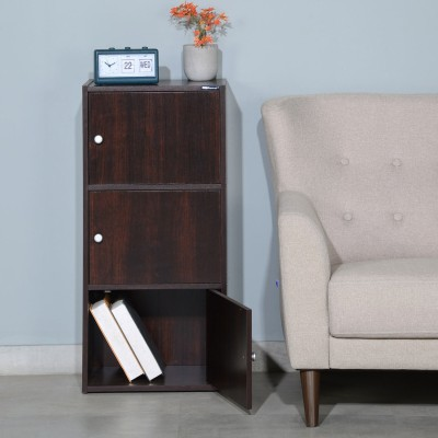 Nilkamal Troy Engineered Wood Free Standing Cabinet(Finish Color - Walnut)