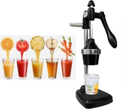 GANESH ENTERPRISE Steel Hand Juicer Juicer Stainless Steel Hand Juicer Hand Press Juicer with Juice Maker Jar - Juice Squeezer...