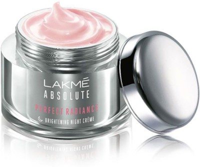 Lakme Absolute Perfect Radiance Skin Brightening Night Creme(50 g)
