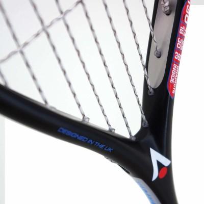 KARAKAL RAW 130 Black Strung Squash Racquet(Pack of: 1, 130 g)
