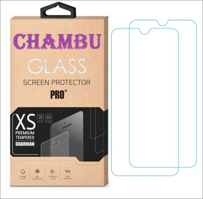 CHAMBU Tempered Glass Guard for KARBONN S5 TITANIUM(Pack of 2)