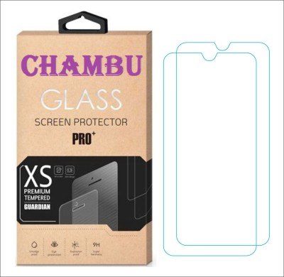 CHAMBU Tempered Glass Guard for Asus Zenfone 4 A400CXG (8GB)(Pack of 2)