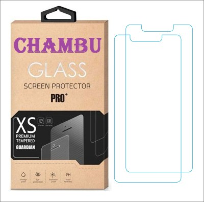 CHAMBU Tempered Glass Guard for Karbonn A119(Pack of 2)