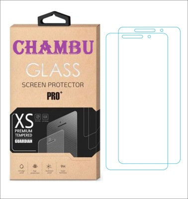 CHAMBU Tempered Glass Guard for Samsung Galaxy Pocket Neo Duos S5312(Pack of 2)