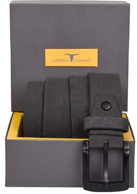 Urban Forest Men Casual Grey Genuine Leather Belt