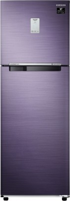 Samsung 265 L Frost Free Double Door 3 Star (2020) Convertible Refrigerator(Pebble Blue, RT30T3A23UT/HL)