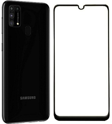 Cell-loid Edge To Edge Tempered Glass for Samsung Galaxy M31(Pack of 1)