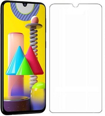 Karirap Tempered Glass Guard for Samsung Galaxy M31, Samsung Galaxy M30, Samsung Galaxy M30S, Samsung Galaxy M21(Pack of 1)