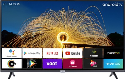 iFFALCON by TCL 79.97cm (32 inch) HD Ready LED Smart Android TV with Google assistant tv HDR 10 and Dolby...