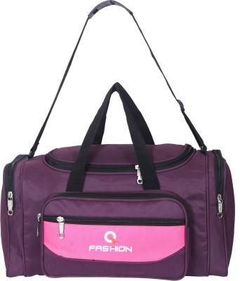 Fashion  Expandable  47 L Travel Duffel Bag Duffel Without Wheels Purple Fashion Duffel Bags