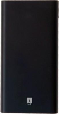 iBall 10000 mAh Power Bank (18 W)(Black, Lithium Polymer)