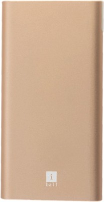 iBall 10000 mAh Power Bank(Champagne Gold, Lithium Polymer)