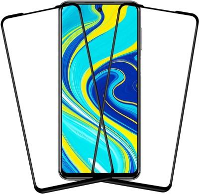 Karpine Edge To Edge Tempered Glass for Poco M2 Pro, Mi Redmi Note 9 Pro, Mi Redmi Note 9 Pro Max(Pack of 2)