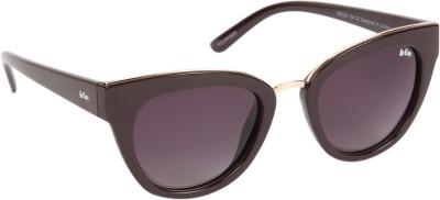 Lee Cooper Cat-eye Sunglasses(Grey)