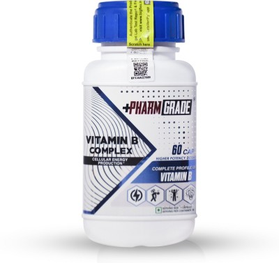 PharmGrade Vitamin B Complex(60 No)