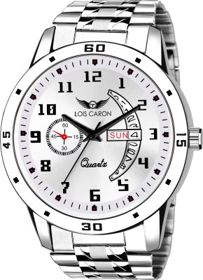 LOIS CARON LCS-8189 DAY & DATE FUNCTIONING WATCH FOR BOYS Analog Watch  - For Men