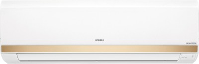 Hitachi 1.5 Ton 5 Star Split Inverter AC - White, Gold(RSOG/ESOG/CSOG518HDEA, Copper Condenser)