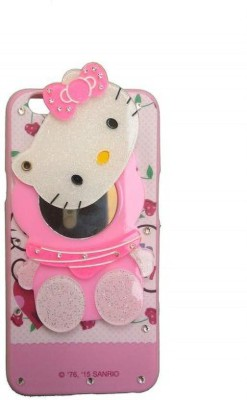 Addindia Book Cover for I Phone X Mirror Kitty 3D Hello Kitty Girls Back Case Cover for I Phone X(Multicolor, 3D Case)