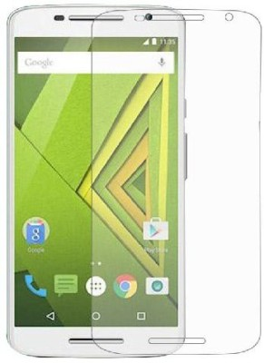 One stop Edge To Edge Tempered Glass for Motorola Moto X Play(Pack of 1)