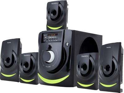 Tronica Compatible Wireless Speaker 50 W Bluetooth Home Theatre(Black, 5.1 Channel)