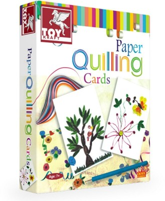 ToyKraft Paper Quilling Kit - Cards Making - for 7 year-olds above