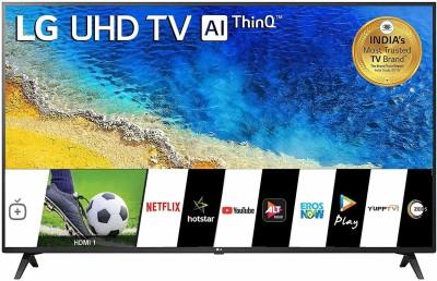 LG 139 cm (55 inch) Ultra HD (4K) LED Smart TV(55UM7290PTD)
