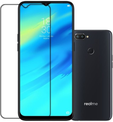 K2-TECH SQUARE Front and Back Tempered Glass for Realme 2 Pro(Pack of 2)