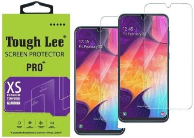 Tough Lee Tempered Glass Guard for Samsung Galaxy M21, Samsung Galaxy F41, Samsung Galaxy M31, Samsung Galaxy M30s, Samsung Galaxy M30(Pack of 2)