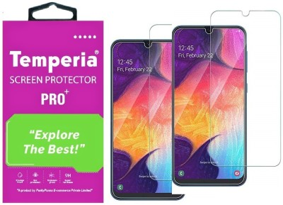 Temperia Tempered Glass Guard for Samsung Galaxy M21(Pack of 2)
