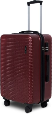 Novex Rome Check in Luggage   24 inch Maroon