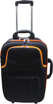 AdevWorld PREMIUM IMPORTED SINGLE 23INCH Check in Luggage   23 inch Black