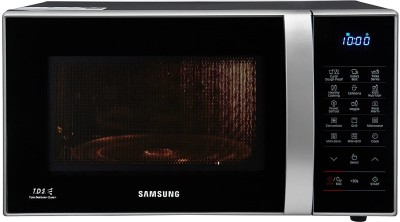 SAMSUNG 21 L Convection Microwave Oven(CE76JD, Black, Silver)