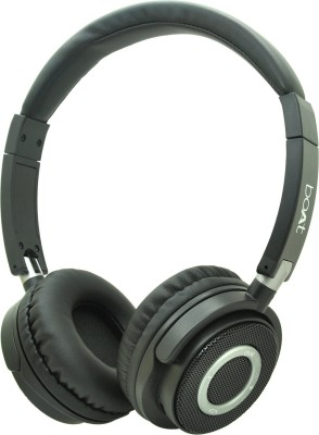 boAt 900 Wireless V2 Bluetooth Headset(Charcoal Black, Wireless over the head)