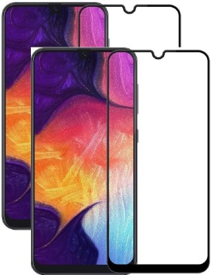 Fovtyline Edge To Edge Tempered Glass for Samsung Galaxy M21(Pack of 2)