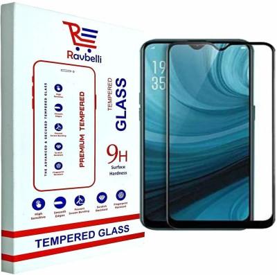RAVBELLI Edge To Edge Tempered Glass for Vivo Y11, Vivo Y12, Vivo Y15, Vivo Y17(Pack of 1)