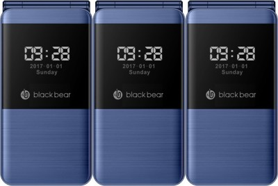Blackbear i7 Trio Combo of Three Mobiles(Blue)