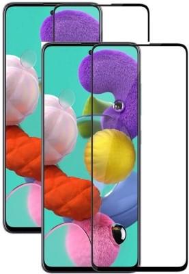 Fovtyline Edge To Edge Tempered Glass for Xiaomi Redmi Note 9 Pro, Xiaomi Redmi Note 9 Pro Max(Pack of 2)