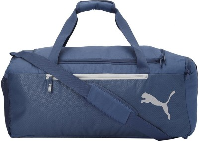 Puma Fundamentals Sports Bag M Travel Duffel Bag Blue