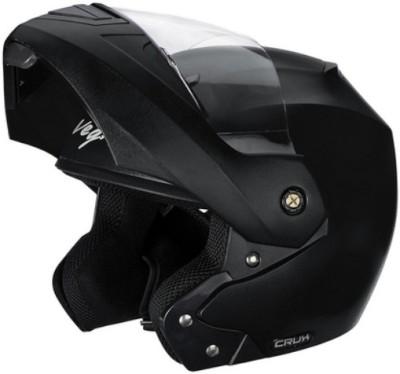 VEGA Crux Flip-Up Helmet Motorsports Helmet(Black)