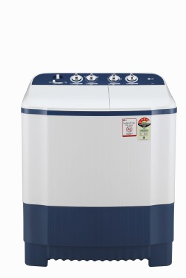 LG 6.5 kg 4 Star Semi Automatic Top Load White, Blue P6510NBAY LG Washing Machines