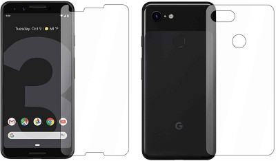 ELEF Front and Back Tempered Glass for Google pixel 3(Pack of 2)