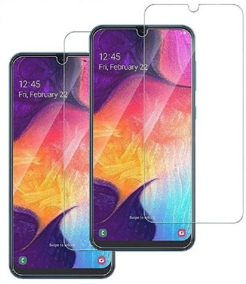 Fovtyline Tempered Glass Guard for Samsung Galaxy M21(Pack of 2)